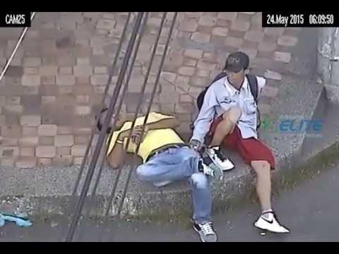 La policía detuvo a un ladrón gracias a las cámaras de seguridad
