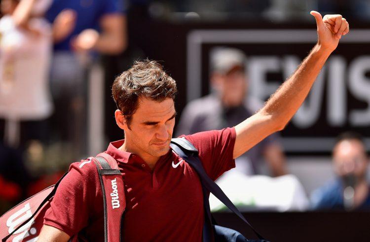 Federer anunció que no estará en los Juegos Olimpicos por una lesión