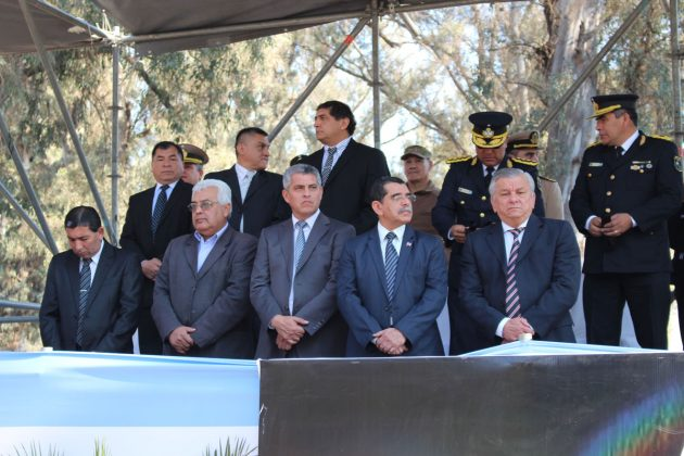 El intendente Infante participó de un nuevo aniversario de la Policía de la Provincia