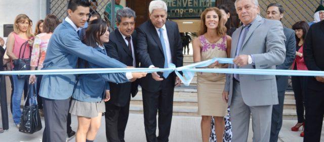 La gobernadora inauguró el Ciclo Lectivo 2016  y obras de refacción y ampliación en la Escuela Técnica Nº 3