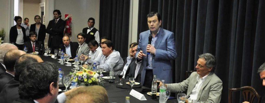 Empresarios santiagueños se reunieron con autoridades nacionales y provinciales