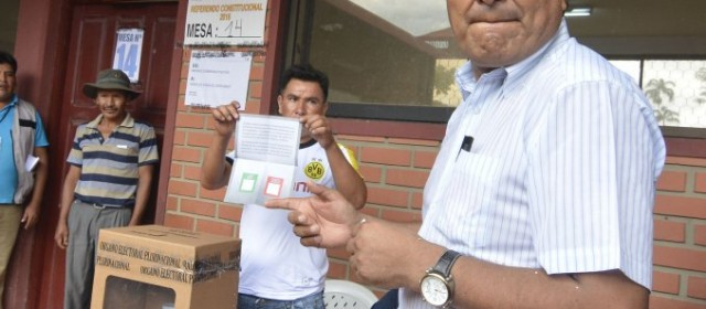 """El pueblo de Bolivia dijo """"NO"""" a la reelección de Evo Morales"""