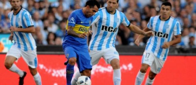 Ante un deslucido Boca, Racing pegó primero y se llevó los tres puntos en Avellaneda
