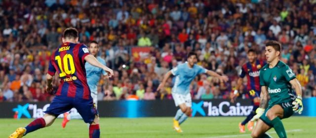 El Barcelona se encamina a un campeonato más al vencer por goleada al Eibar