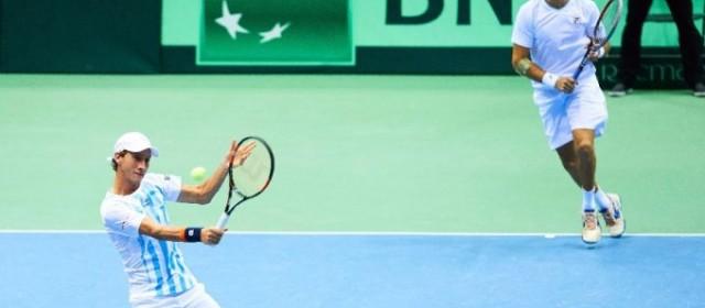 Pese haber perdido en dobles, Argentina tiene muchas posibilidades de avanzar a cuartos en la Davis
