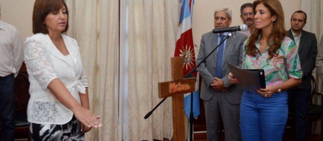 Asumió Norma Fuentes como ministra del Agua y Medio Ambiente