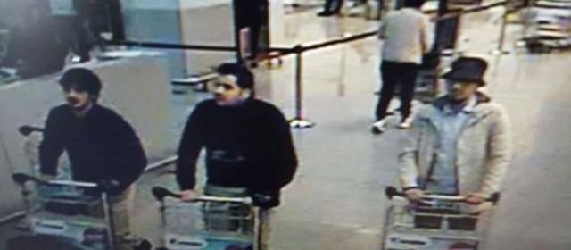 Difunden la imagen de dos presuntos terroristas suicidas en el aeropuerto de Bruselas