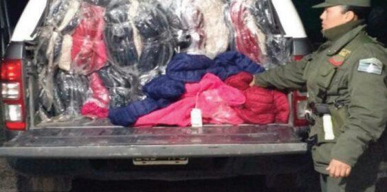Salteños fueron detenidos en la localidad El Mojón con una millinaria carga ilegal