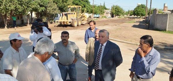 El Municipio capitalino comenzará obras de desagüe, gas, pavimentación, luminaria y contrucción de plazas