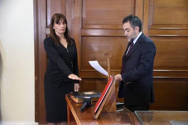 Asumieron como jueces de Capital y Las Termas, Cecilia Vittar y Ramón Sálice