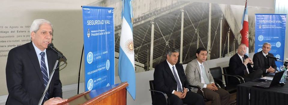 El vicegobernador Neder participó de la primera jornada de Seguridad Vial