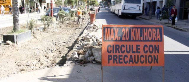 Obra avenida Belgrano: en días se habilitara al transito vehicular