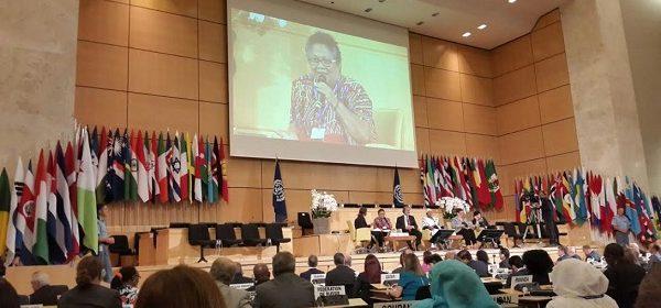 La Secretaria de Trabajo de la provincia presente en la Conferencia Internacional de la OIT