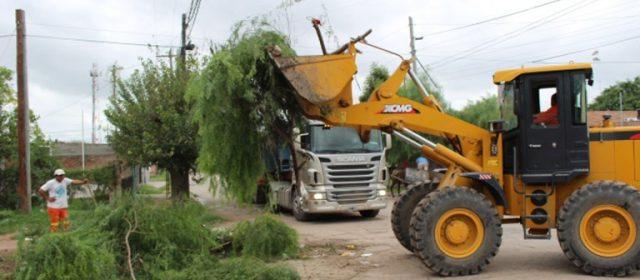Continúa  el trabajo de erradicación de minibasurales y limpieza