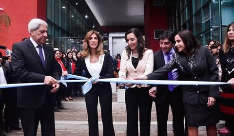 La Gobernadora dejó formalmente inaugurado el nuevo edificio del Consejo de Educación