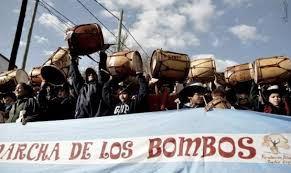Con auspicio de la comuna capitalina realizan la vigilia columna sur de la Marcha de los Bombos