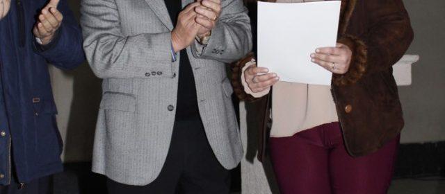Infante encabezó la entrega de decretos a directores y supervisores de Jardines de Infantes municipales que resultaron ganadores del concurso 2017