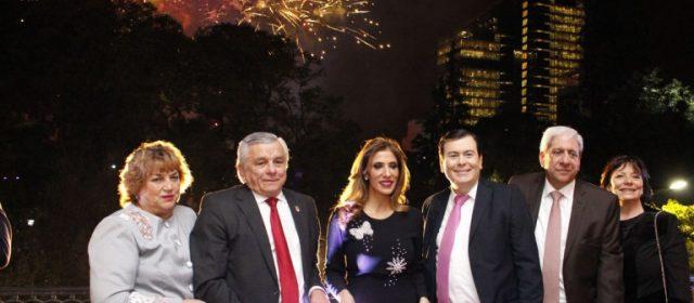 Autoridades festejaron los 464 años de la ciudad