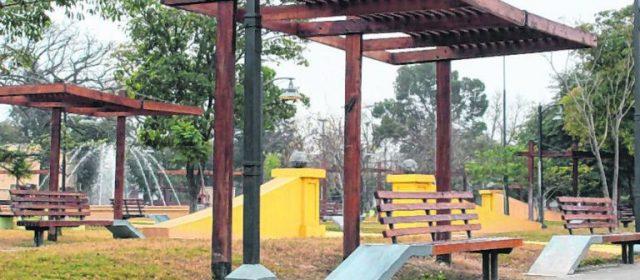 Licitan mantenimiento preventivo para espacios verdes