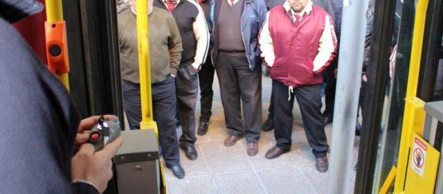 Capacitación a choferes de Ersa SA sobre accesibilidad a personas con discapacidad
