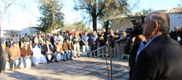 El Presidente del Concejo Deliberante participó del acto por el aniversario de Obras Públicas