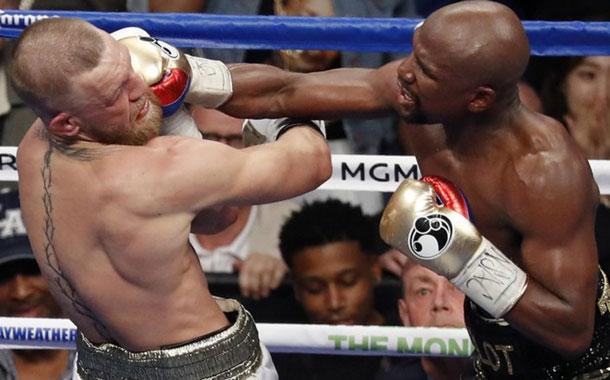 Floyd Mayweather venció a Conor McGregor por nocaut técnico en una pelea histórica