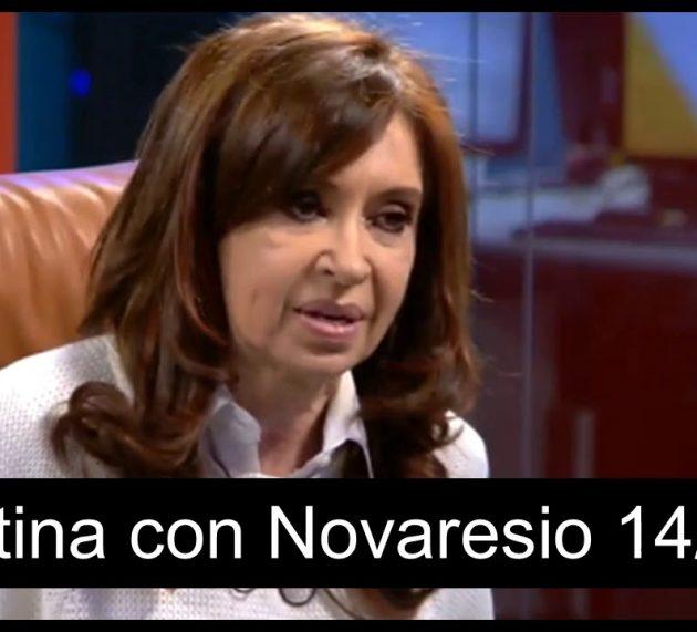 Reviví la entrevista completa de Cristina