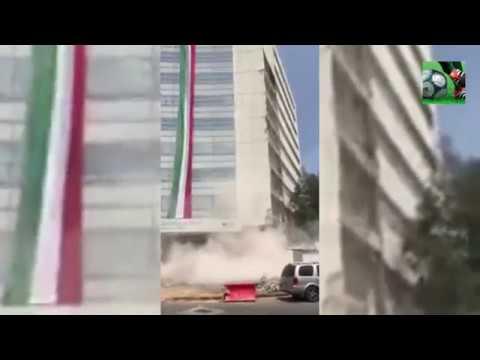 Imágenes sorprendentes del terremoto en México