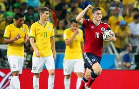 Colombia reaccionó gracias a Falcao y empató ante Brasil