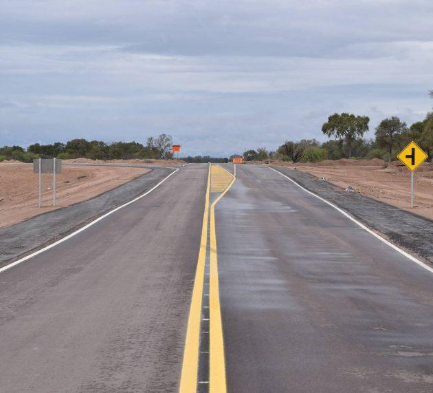 Quedaron inauguradas las rutas que unen Sumampa – Pinto y Telares – Sumampa