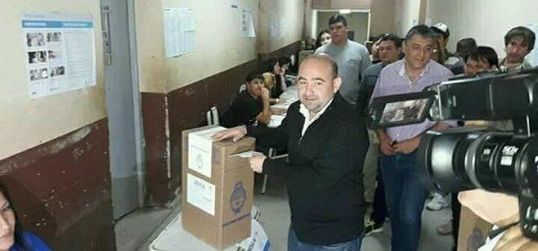 Mirolo emitió su voto