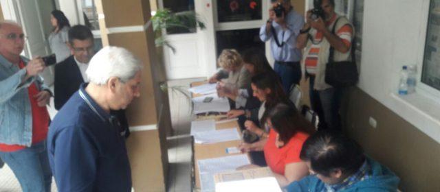 Neder confirmó que la elección se desarrolla con normalidad en la provincia
