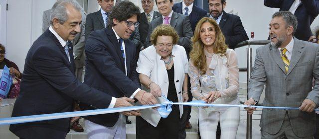 La Gobernadora y el ministro de Justicia de la Nación inauguraron el edificio central de Tribunales