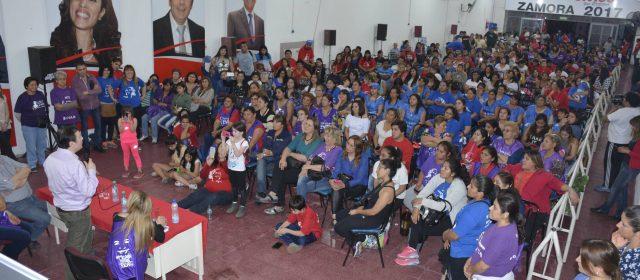El senador Zamora continúa con el intenso trabajo con miras a las elecciones del próximo domingo 22 de octubre.