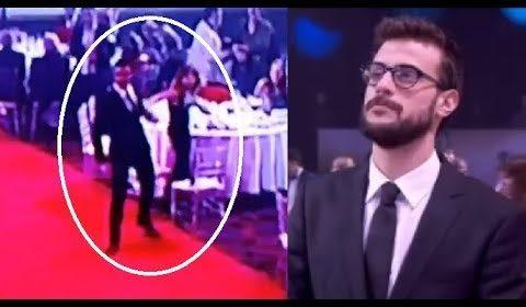 VIDEO: La violenta reacción de Diego Leuco con su novia en los Martín Fierro de la Radio