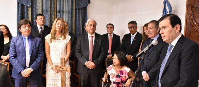 Asumieron ministros y secretarios que acompañaran a Zamora en su gestión