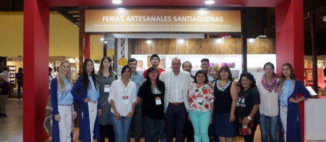 La Feria de Artesanías comenzó con  nuevas propuestas santiagueñas