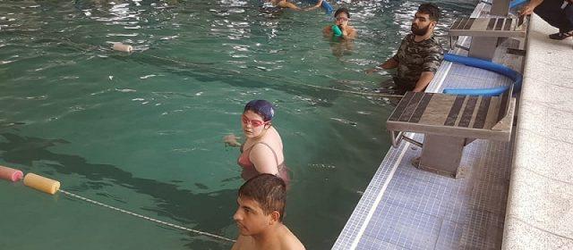 Los chicos de la escuela municipal de natación adaptada tuvieron un destacado papel en el 2° torneo provincial