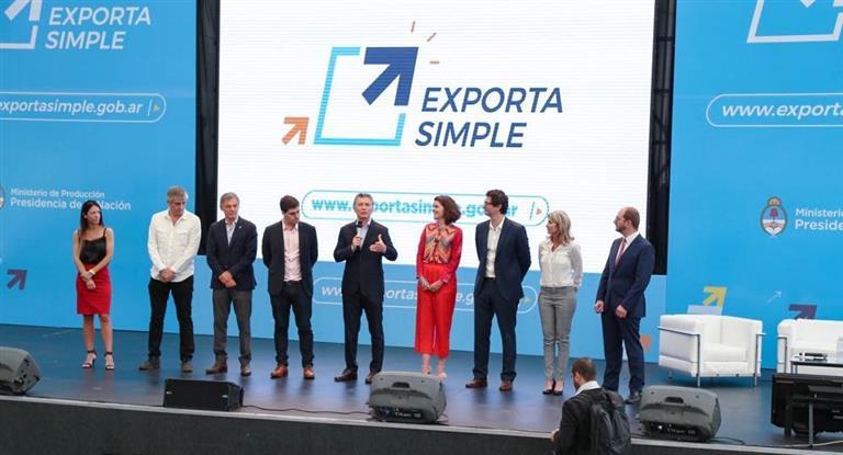 Macri lanzó plataforma online para facilitar exportación a pymes