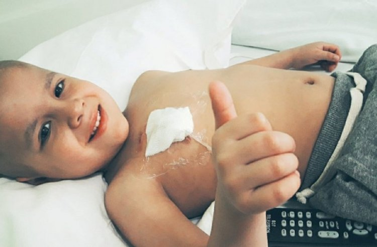 Juan Ignacio tiene 4 años y espera un trasplante de médula