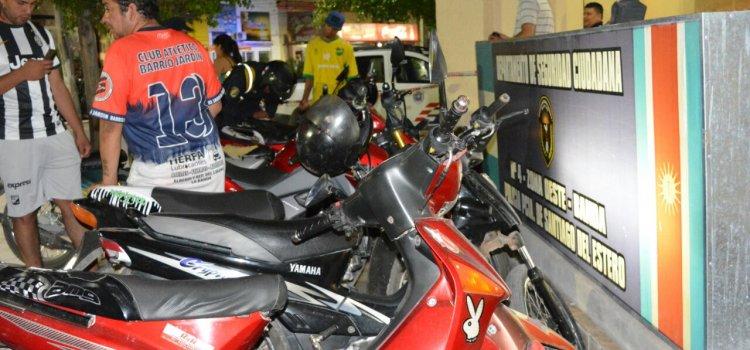 Mega operativo de seguridad vial: más de  100 retenciones por falta de caso y alcoholemia