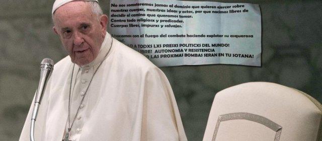 Visita del papa Francisco a Chile: amenazas y explosivos en iglesias
