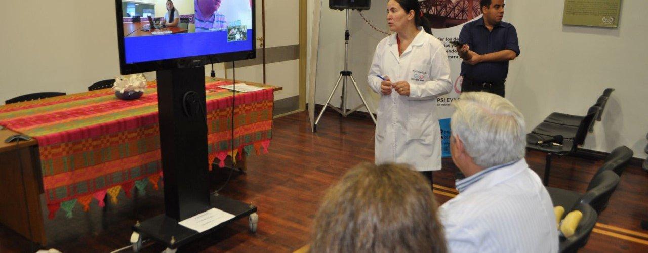 PRUEBA PILOTO DEL PROGRAMA DE TELEMEDICINA CON HOSPITALES ZONALES