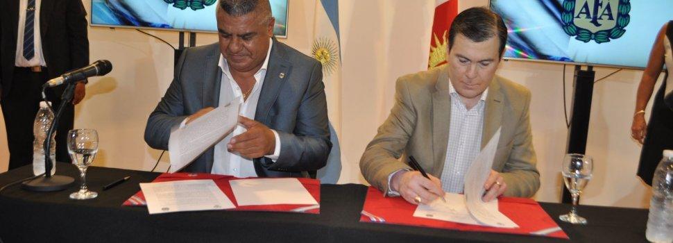 AFA: Convenio marco de colaboración y cooperación