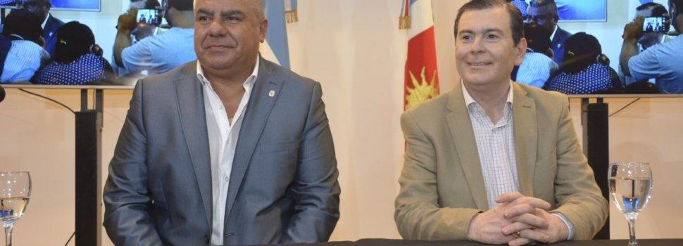 El gobernador y el presidente de la AFA firmaron  un convenio marco de colaboración y cooperación