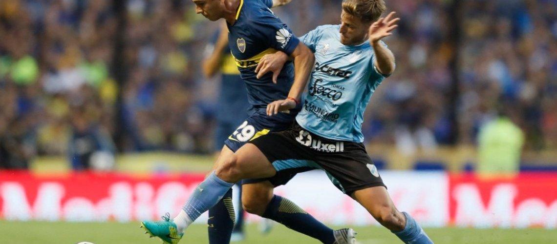 Boca le ganó con lo justo al débil Temperley y se afianza en la cima de la Superliga