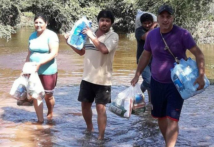 Inundaciones en Salta: acusan a concejal de Cambiemos de robar donaciones