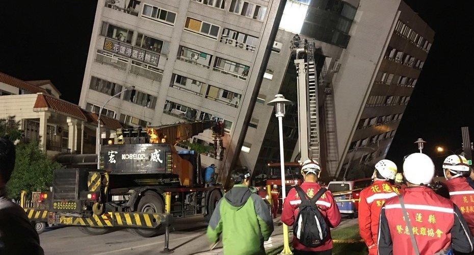 Terremoto en Taiwán: al menos 2 muertos y 100 heridos