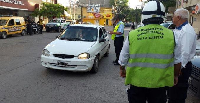 La comuna prosigue con los controles de tránsito