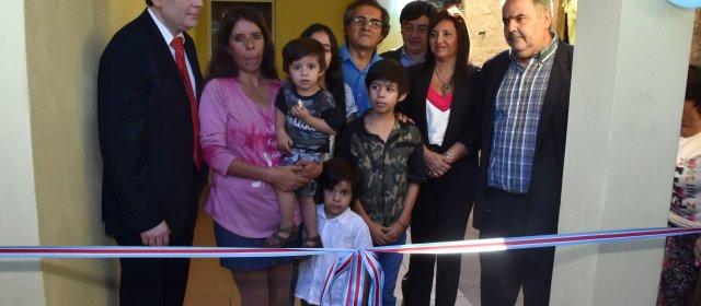 El Gobernador Zamora habilitó viviendas